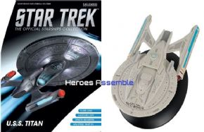 Star Trek Official Starships Collection Special USS Titan NCC-80102 Eaglemoss